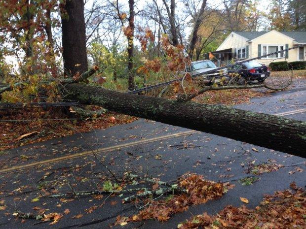 [NECN] Wild Storm Brings Heavy Rains, Winds