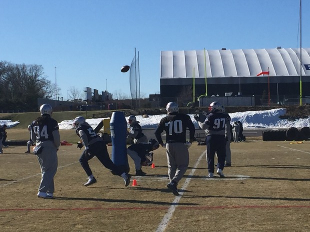 Patriots Return to Practice Ahead of Super Bowl LII