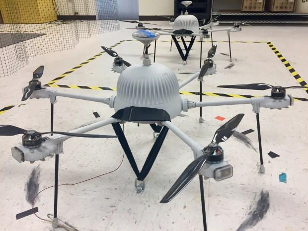 Boston Marathon Drones