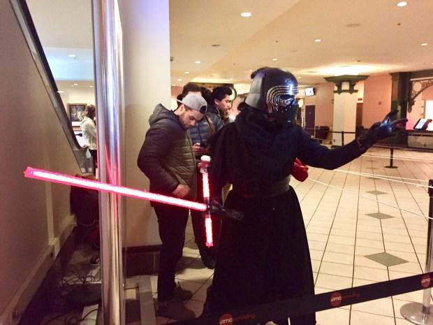 Boston Fans Line Up in Boston for 'Star Wars: The Last Jedi' Premiere