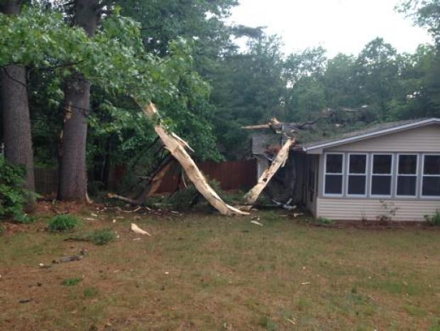 Severe Storms Hit New England on May 28