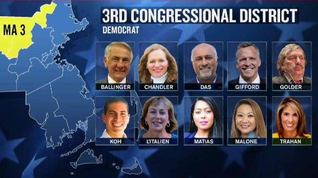 [NECN] 10 Democrats Looking to Replace Tsongas in MA-3