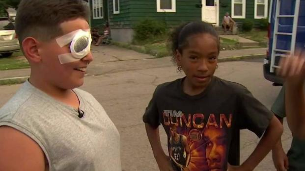 [NECN] 12-Year-Old Hurt in Brockton Paintball Shooting
