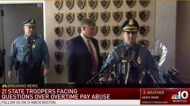 [NECN] 21 MA State Troopers Investigated for OT Abuse