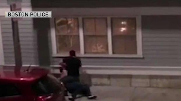 [NECN] Police Search for Suspects in South Boston Assault