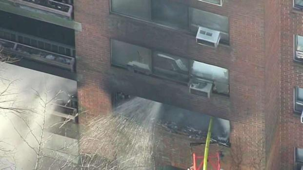 [NECN] 3 Rescued From Fire at Senior Housing Complex in Brighton
