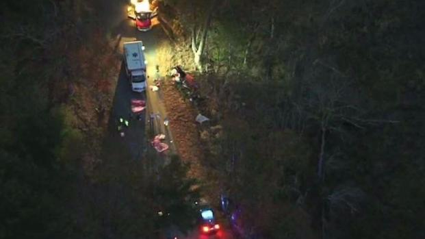 [NECN] 3 Students Killed in West Brookfield Rollover