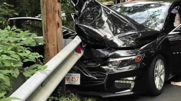 [NECN] 4-Year-Old Injured in Northbridge Crash