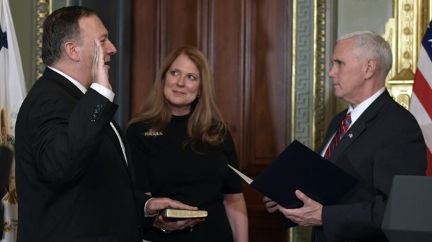 [NATL] Mike Pompeo Swearing-In Ceremony