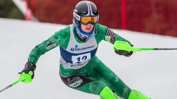 [NECN] Plymouth State Ski Coach Talks About Student Going for Gold in PyeongChang