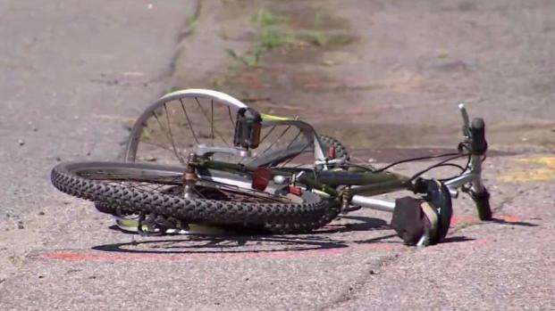 [NECN] Bicyclist Hospitalized With Serious Injures After Being Struck by Car