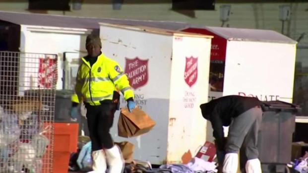 [NECN] Body Found Near Salvation Army Donation Bins