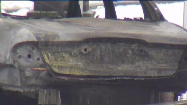 [NECN] Body Found in Burning Car in Hope Cemetery