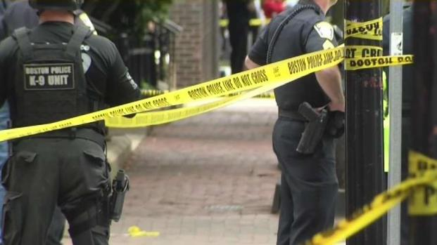 [NECN] Boston Police Officer Shot in Calf; Neighbors, Police Outraged