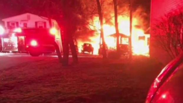 [NECN] Boy Killed in 3-Alarm Blaze in Hampton, NH