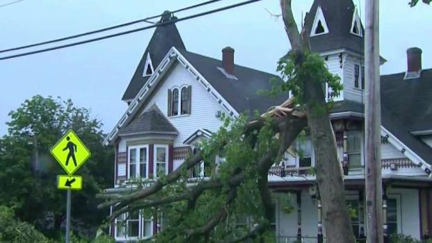 [NECN] Cape Recovers Following Tornado