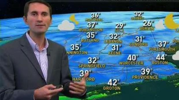 [NECN] Chilly Night Ahead Before Threat of Rain on Sunday
