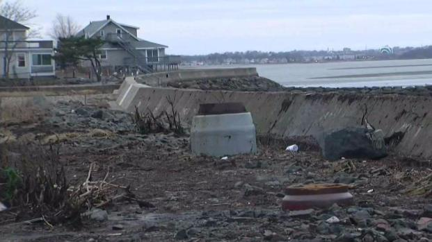 [NECN] Cleaning Up After the Storm in Quincy