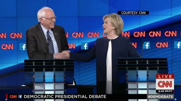 """'Enough of the Emails"""": Sanders on Clinton Email Scandal"""