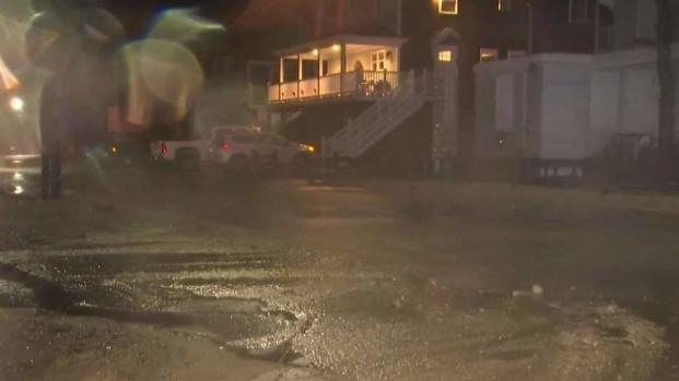[NECN] Coastal Flooding Concerns Residents in Scituate