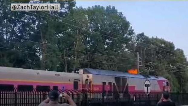 [NECN] Commuter Rail Train Fire Explained