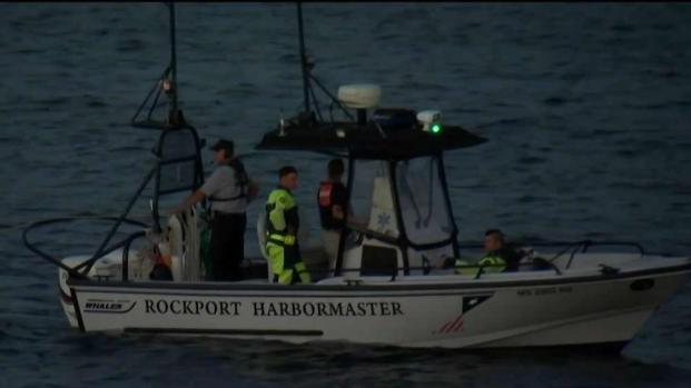 [NECN] Crews Search for Missing Diver Off Rockport's Coast
