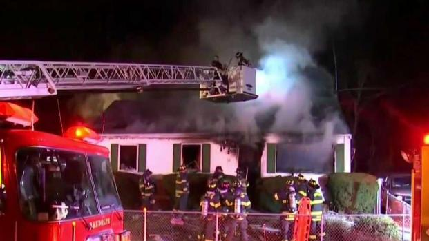 [NECN] Father and Son Killed in Avon House Fire