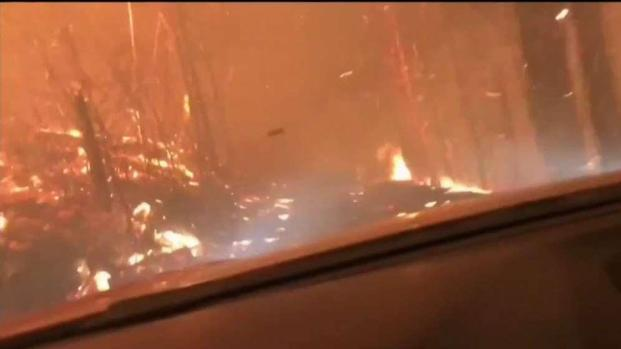 [NATL-NECN] Father and Son Narrowly Escape Montana Forest Fire