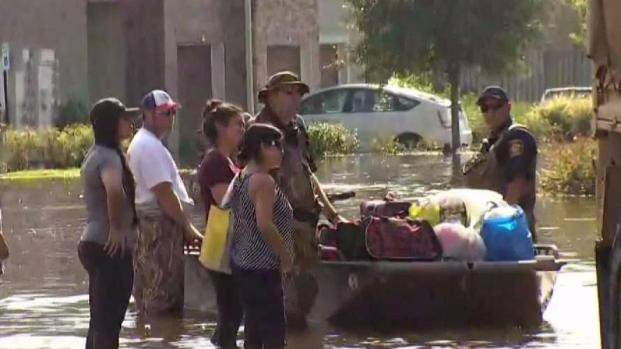 [NECN] First Hand Look at Texas Boat Rescues