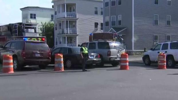[NECN] Gas Main Leak Prompts Evacuations in Lawrence