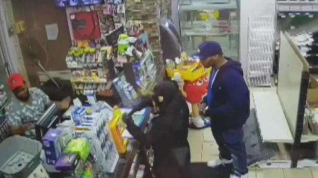 [NECN] Gas Station Clerk Shot During Robbery Attempt