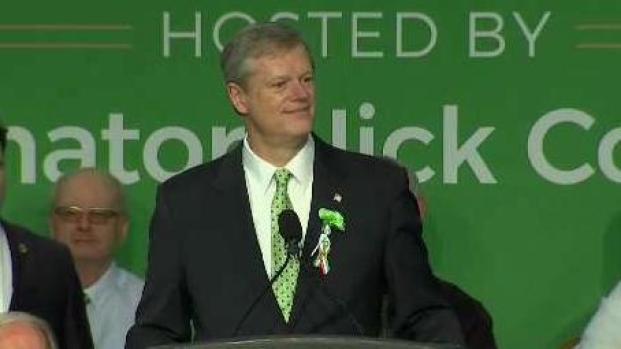 Gov. Charlie Baker Speaks at St. Patrick's Day Breakfast