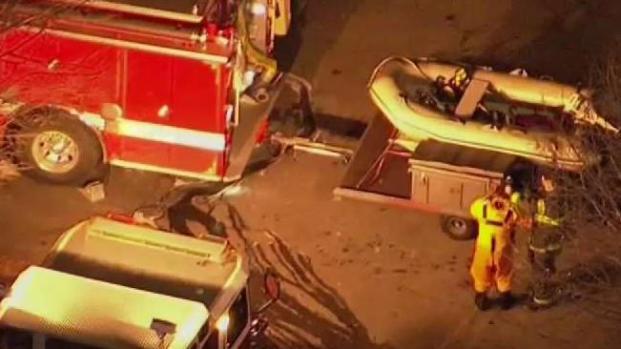 [NECN] Hazmat Responding to Fuel Spill in Charles River