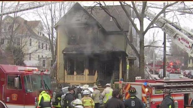 [NECN] JP Home With Day Care Catches Fire