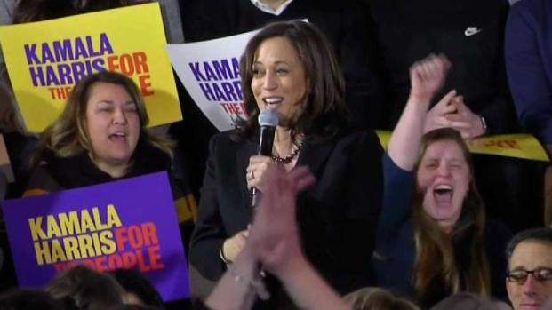 [NECN] Kamala Harris Campaigns in New Hampshire