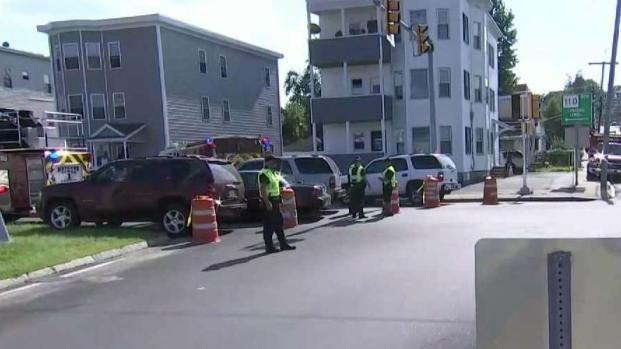 [NECN] Large Gas Leak Leads to Evacuations in Lawrence