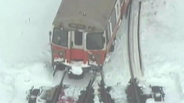 [NECN] MBTA to Operate on Reduced Schedule Tuesday