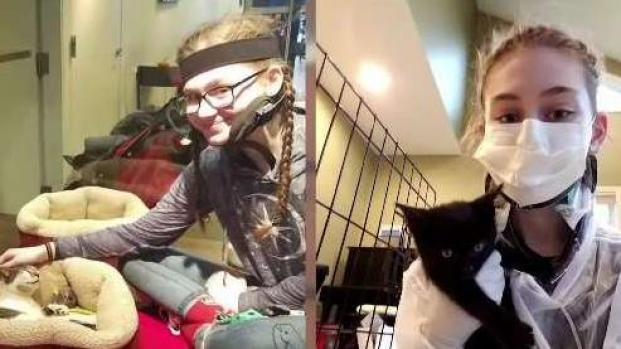 [NECN] Make-a-Wish Helps Vt. Teen Create Kitten Fostering Space