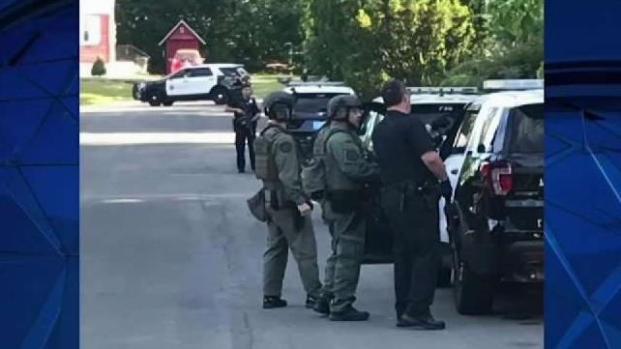 [NECN] Man Arrested After Methuen Standoff