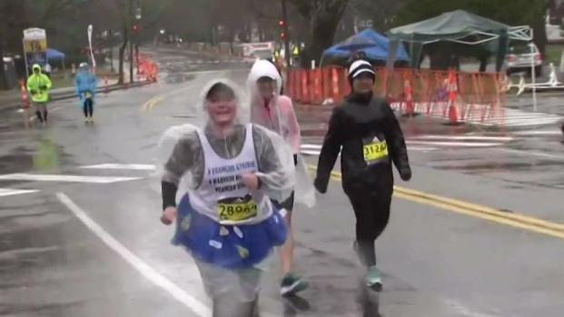 [NECN] Marathon Athletes Overcome Brutal Conditions