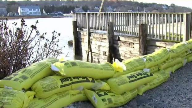 [NECN] Massachusetts Coastal Residents Get Ready for Storm