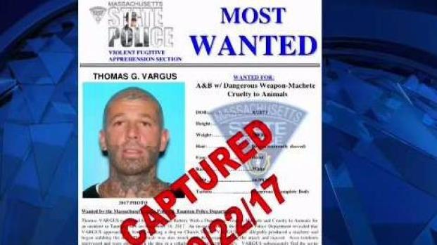 [NECN] Massachusetts Most Wanted Man Captured