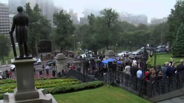 [NECN] Massachusetts Pays Tribute to Local 9/11 Victims