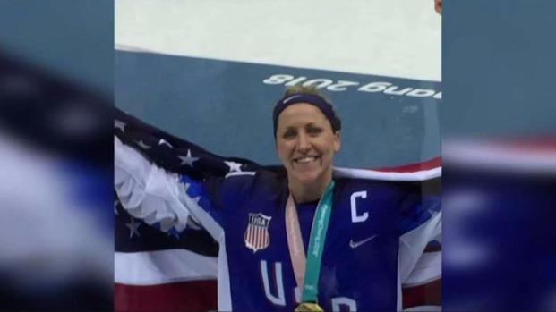 [NECN] Meghan Duggan's Hometown Celebrates Women's Hockey Gold