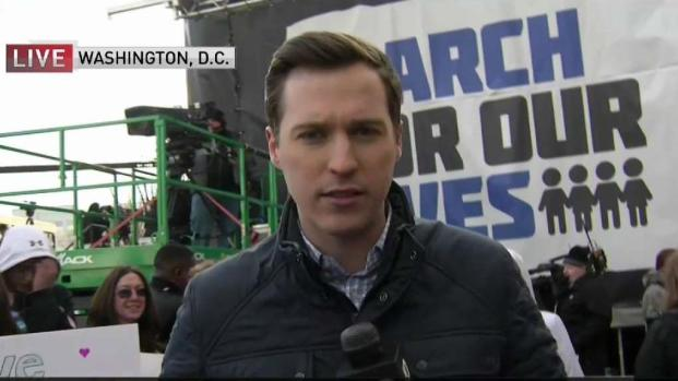 [NECN] NBC10 Boston at 'March for Our Lives' in Washington