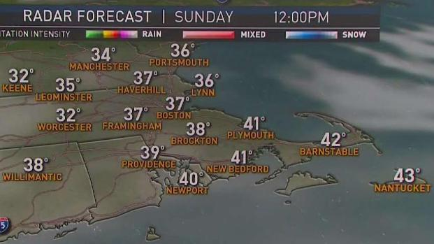[NECN] Weather Forecast: Increasing Clouds on Sunday