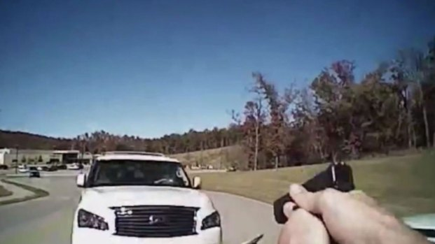 Cop Gets Hit by Car, Shoots at Suspect, Then Makes Arrest