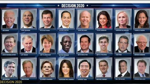 [NECN] New Poll of Democratic Primary Candidates in NH