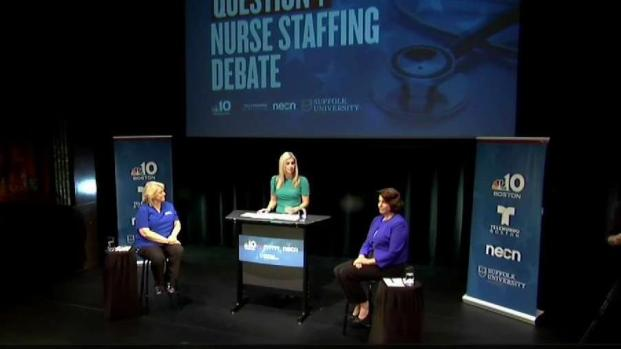 [NECN] Nurses Spar in Question 1 Debate