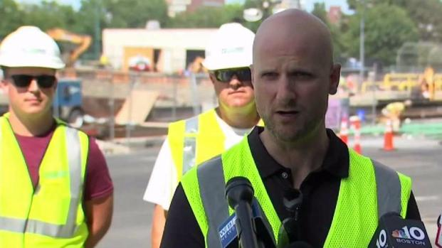 [NECN] Officials Provide Comm. Ave. Bridge Construction Update